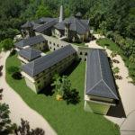 Modell des Zisterzienserklosters