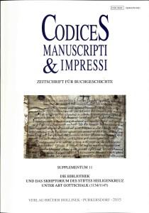 codices-manuscripti - titelblatt -