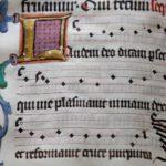 Buchmalerei - Notation
