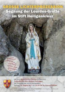 2017.08.14_Segnung der Lourdes Grotte_Plakat_FINAL (1)