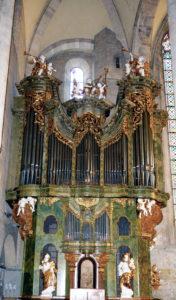 Ignaz Kober Orgel - Stiftskirche